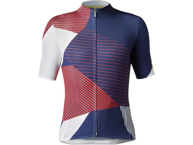 Mavic Allure Ltd Jersey Herren white/red/blue
